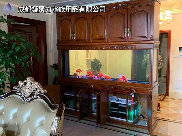 重庆现场定制鱼缸