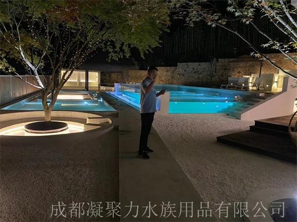 重庆无边游泳池定制