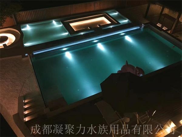 重庆无边游泳池施工厂家