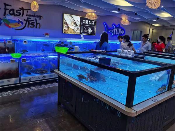 重庆商超鱼缸订制