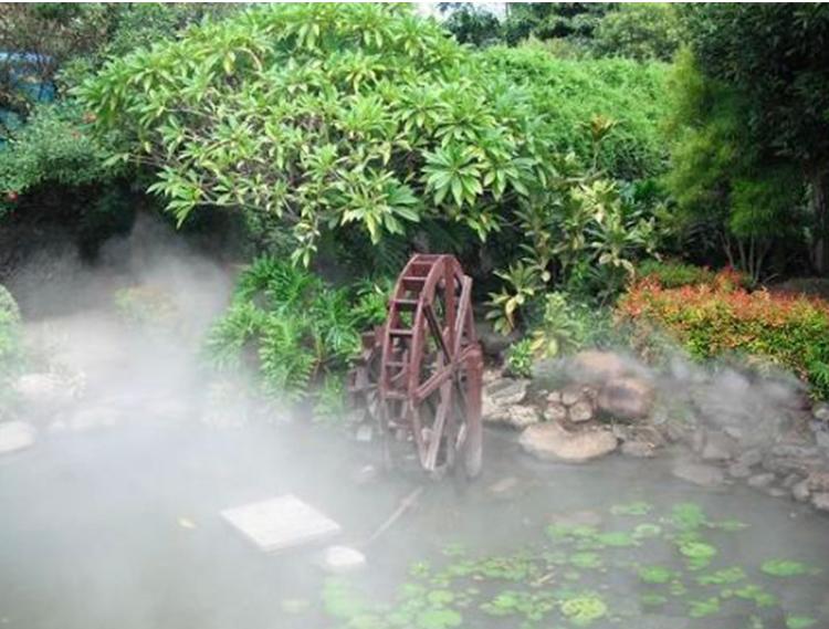 成都园林灌溉设备厂家介绍:喷雾降温要避免那些措施