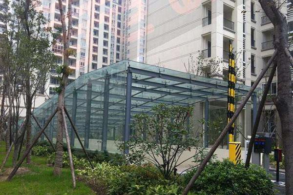 玻璃顶制作安装
