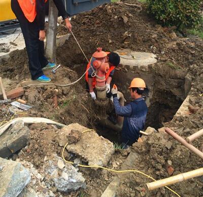 小区消防管漏水检测