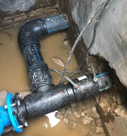 地下消防管维修