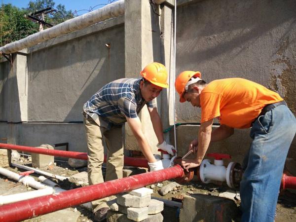 地下管道改造