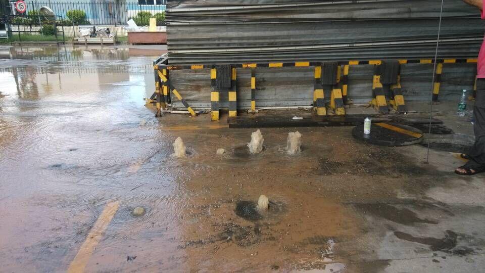 特灵空调系统(中国)中山分公司地下管道漏水检测