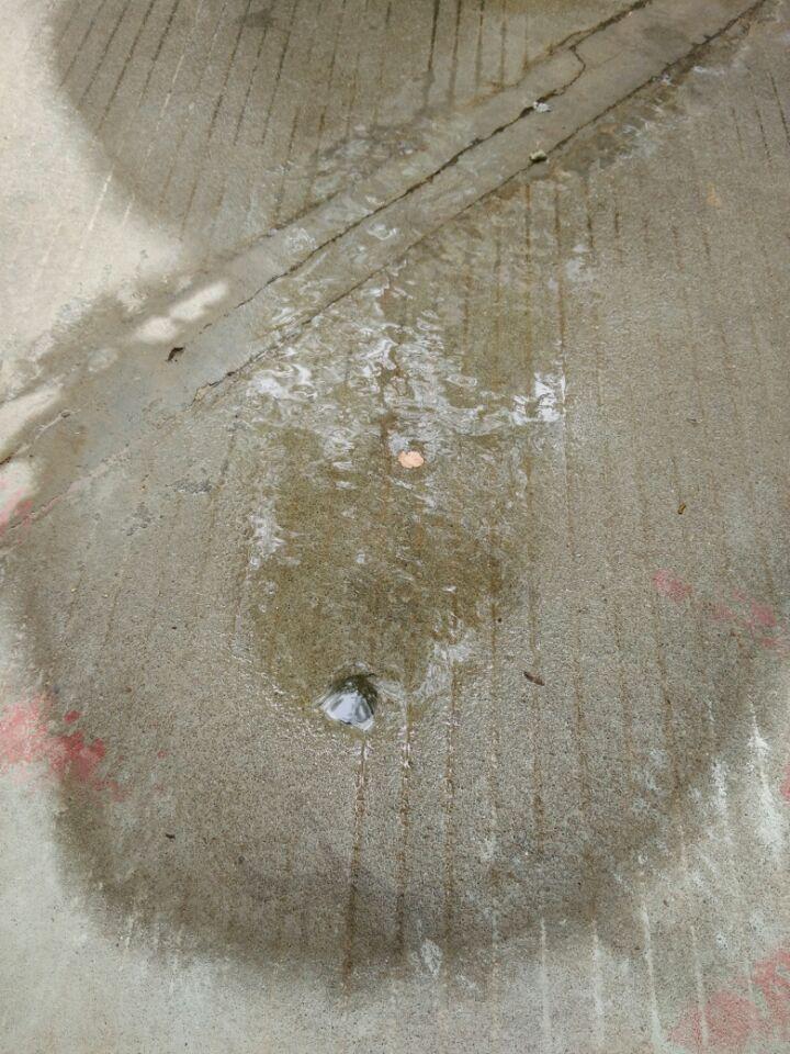 东莞市食品有限公司的供水管漏水找骏兴进行检查维修