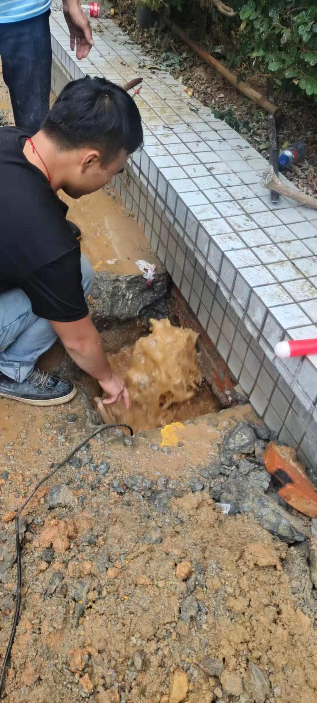 自来水管道漏水检测查漏