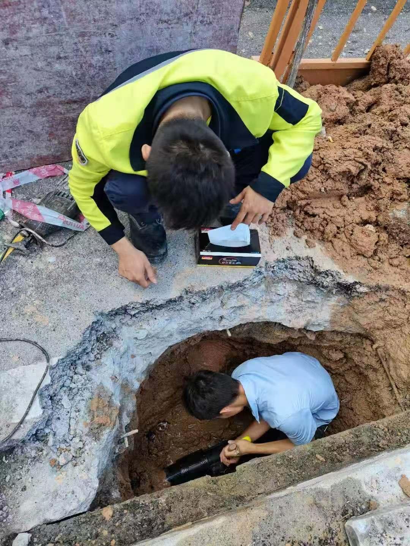 地下自来水管漏水检测