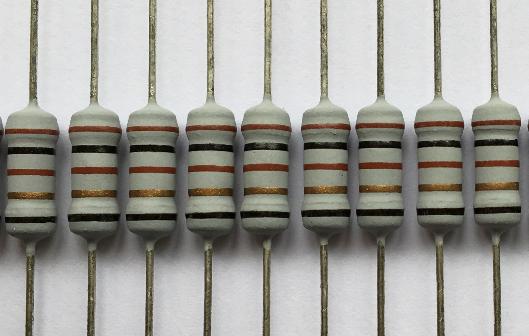 色环绕线电阻