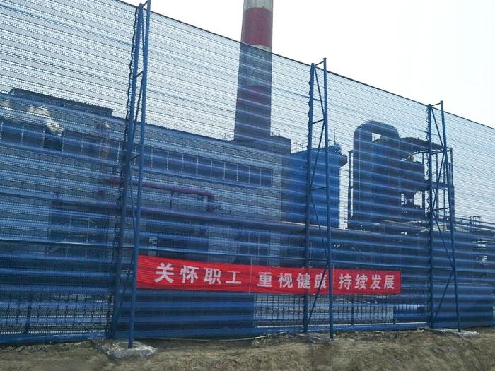 防风抑尘网的设计与使用。