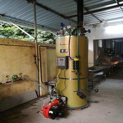 食品厂0.2-0.7油气蒸汽发生器
