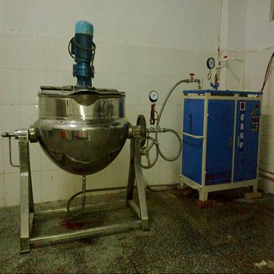 食品厂48KW电蒸汽发生器