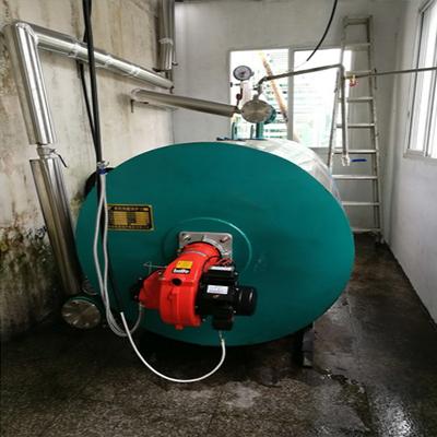 台企30W大卡导热油锅炉