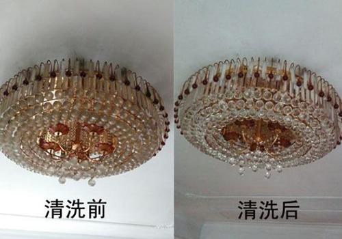 广州水晶灯清洗