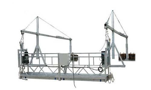 来看看昆明电动吊篮租赁公司是如何处理悬挂平台问题的