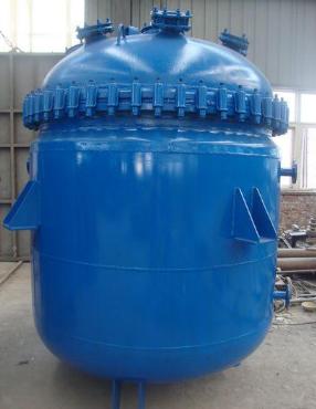 电加热搪瓷反应罐