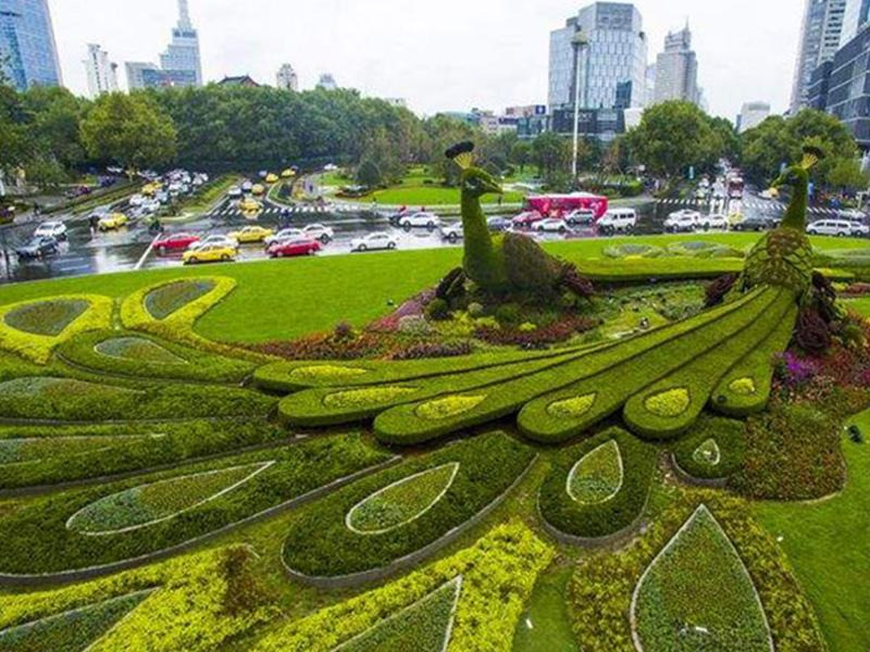 三明绿雕制作工艺主要分四大部分