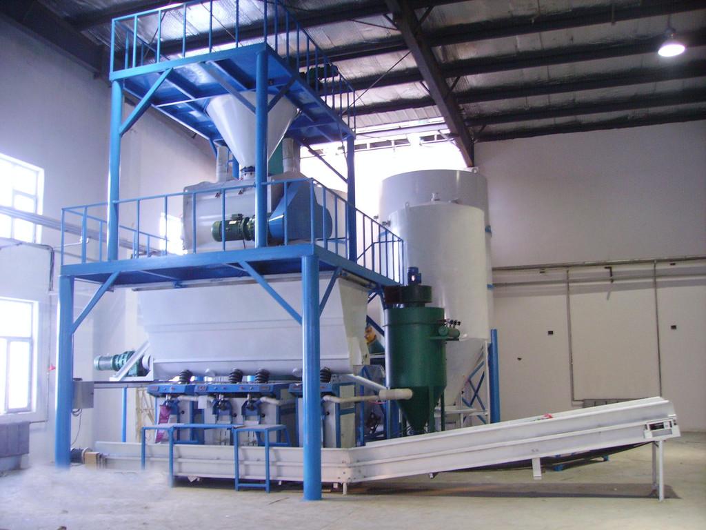 来宾/贺州 干混砂浆设备及生产工艺所需场地