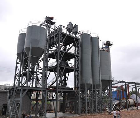 塔楼式干粉砂浆生产线