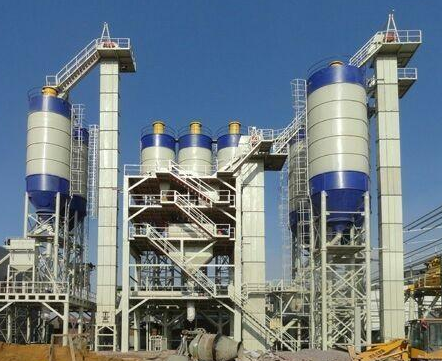集成式干粉砂浆生产线