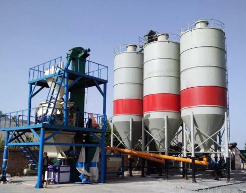 北京干粉砂浆设备