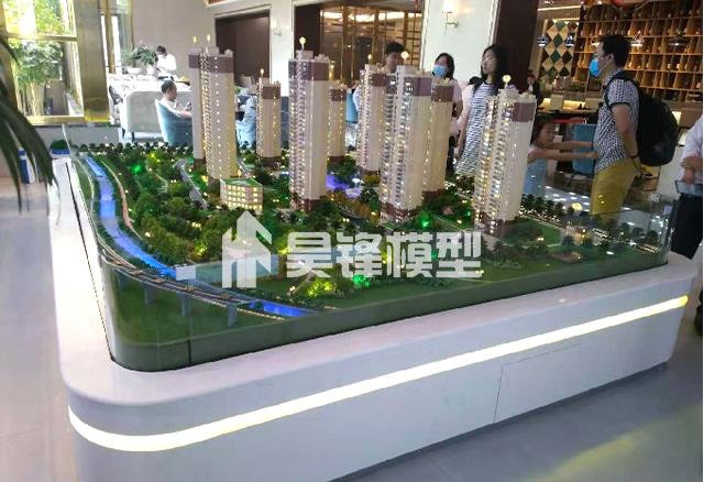 建筑模型的灯光应该怎样设计?云南建筑模型制作公司给您建议