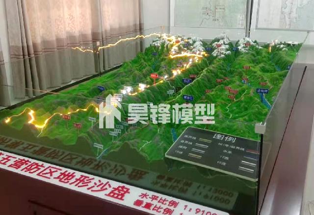 云南地形模型设计公司,昆明地形模型制作公司