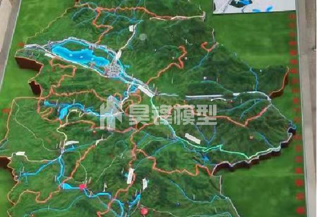 云南地形沙盘模型定制公司,昆明地形沙盘模型制作公司
