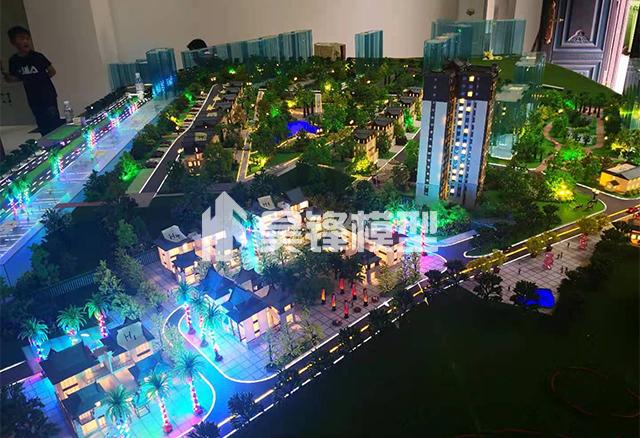 昆明别墅建筑模型制作