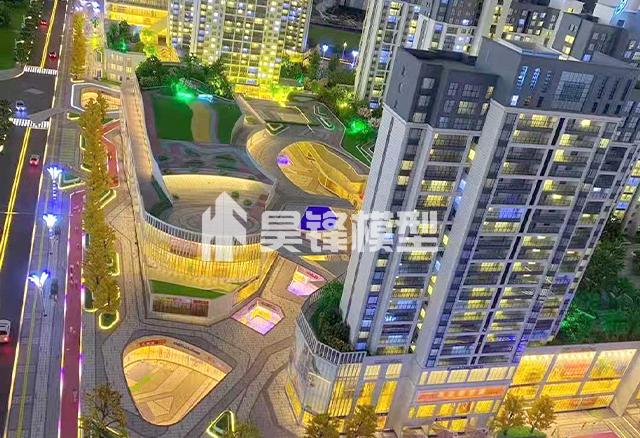 商业建筑模型制作