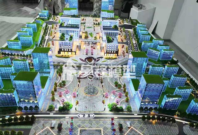 商业模型-西藏山南恒宇广场