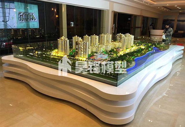 地产模型-曲靖西河苑