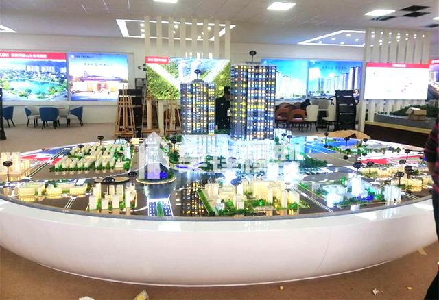 地产模型-曲靖盛达广场