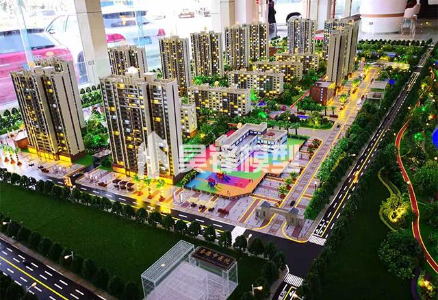 昆明地产建筑模型定制