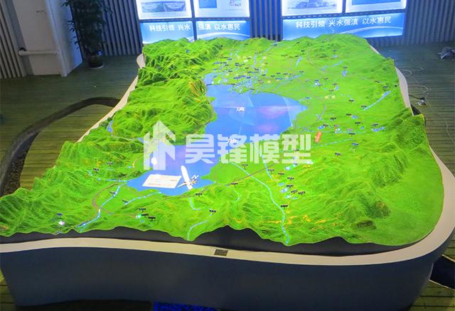智慧水利模型-滇池流域模型