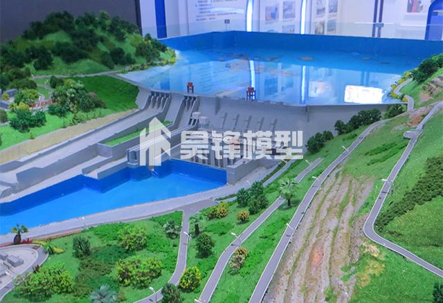 水电站模型-观音岩水电站