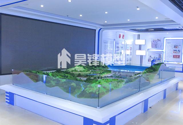 水电站模型设计