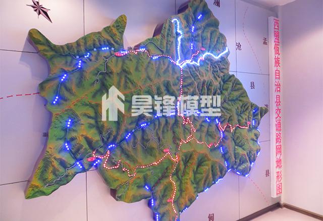 云南交通沙盘模型制作,昆明交通沙盘模型设计