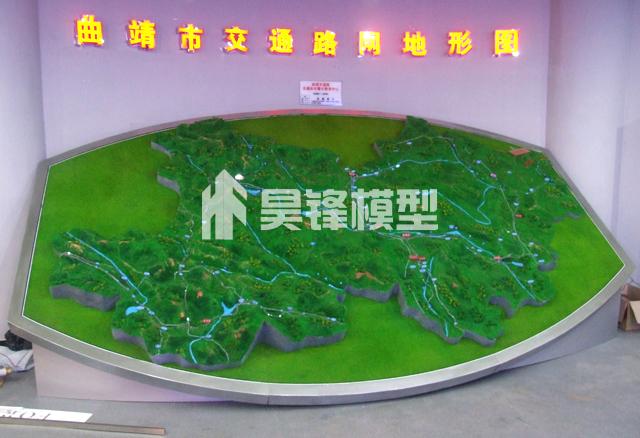 云南交通规划沙盘模型,昆明交通规划沙盘模型制作