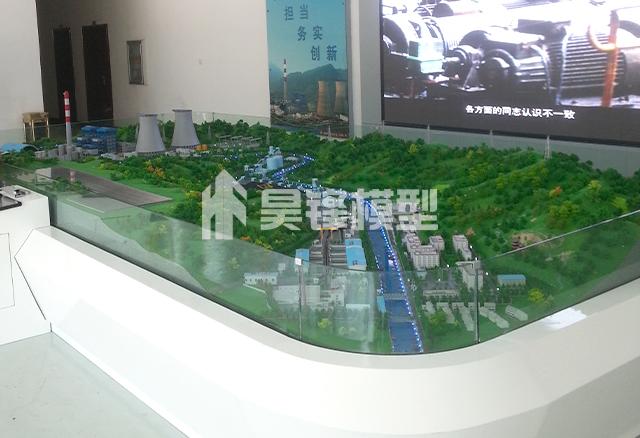 发电站沙盘模型