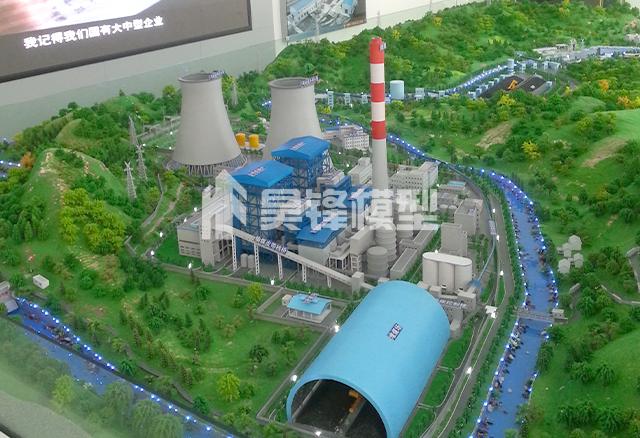 云南发电站沙盘模型