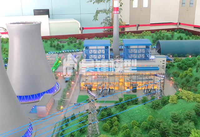 发电厂沙盘模型