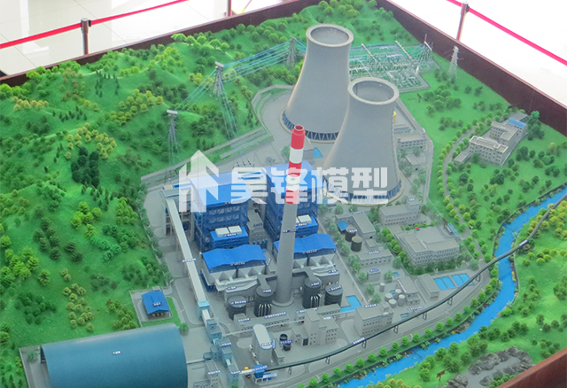 云南发电厂沙盘模型