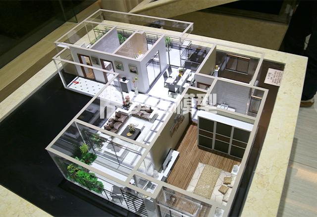 售楼部户型沙盘模型制作