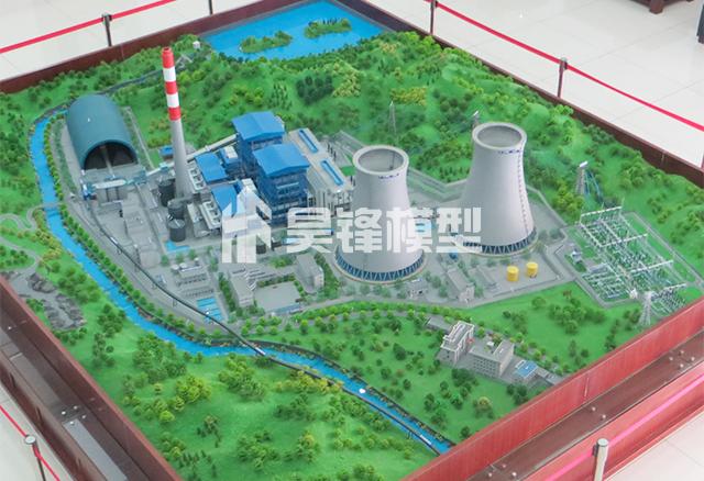 工业厂矿模型