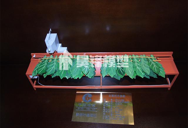 产品模型-编烟叶机模型