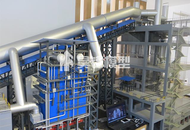 建筑机械模型-锰业余热发电