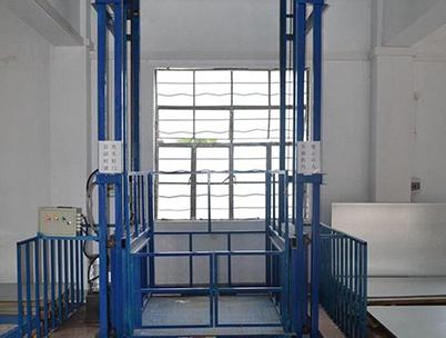 液压导轨式升降货梯