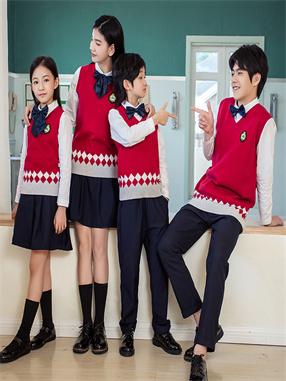 英伦学院毛衣套装X861